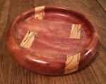 Sapele and beech segmented bowl by Wood Cave