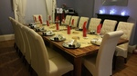 Sapele and pine dining table by Wood Cave