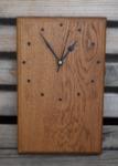 Oak block clock by Wood Cave